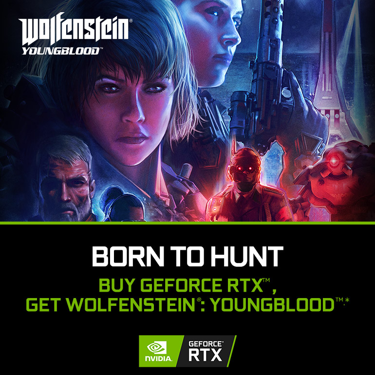 NVIDIA GeForce RTX Wolfenstein Bundle