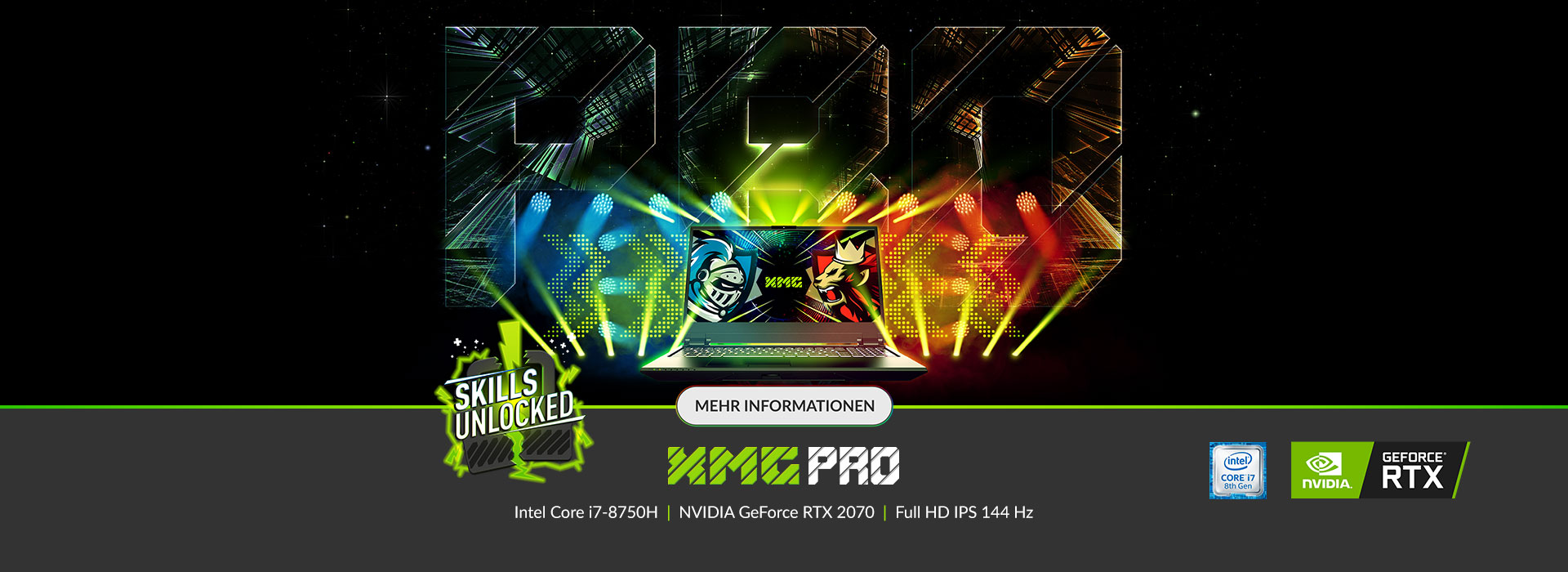 XMG PRO Serie