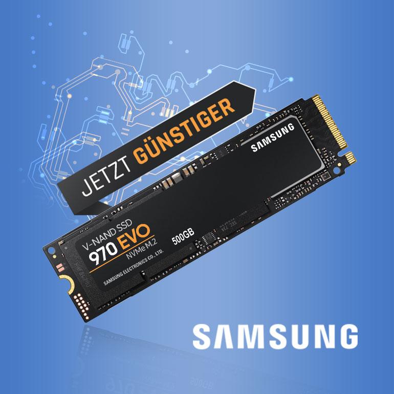 Samsung 970 EVO Sale Günstiger