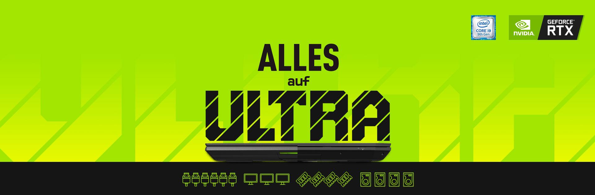 XMG ULTRA Alles auf Ultra