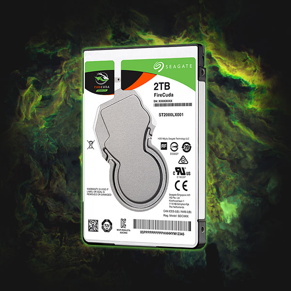 Seagate Firecuda 2 TB – PUT ALL YOUR GAMES ON IT