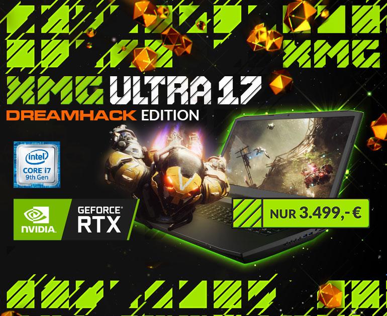XMG ULTRA - DreamHack Edition