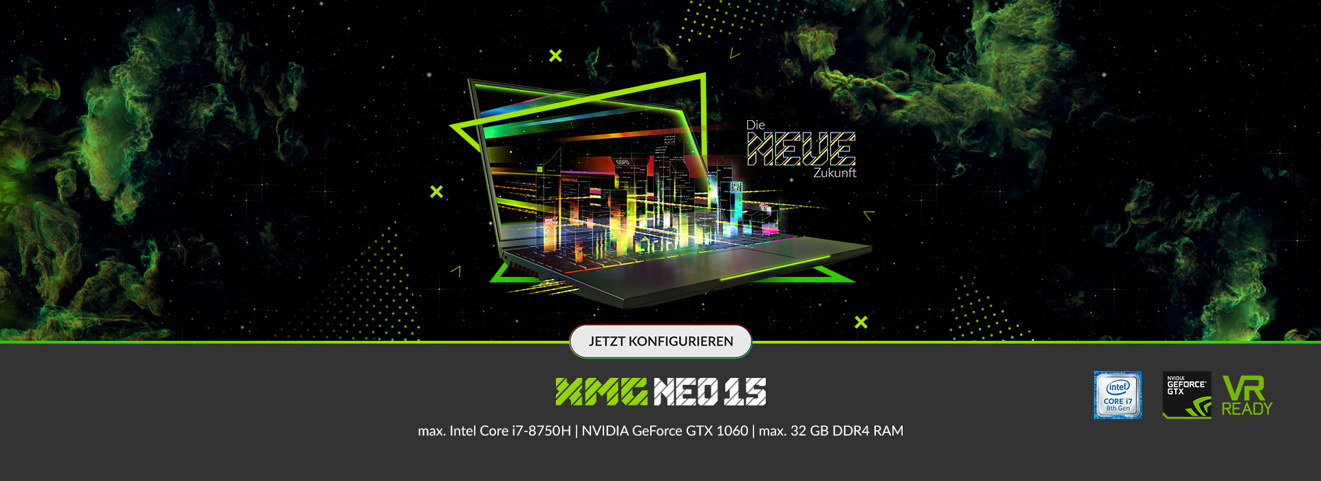 xmg neo 15 slider