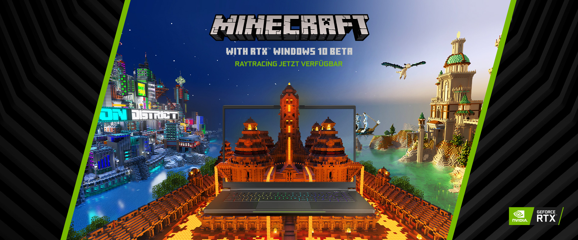 Minecraft mit NVIDIA RTX