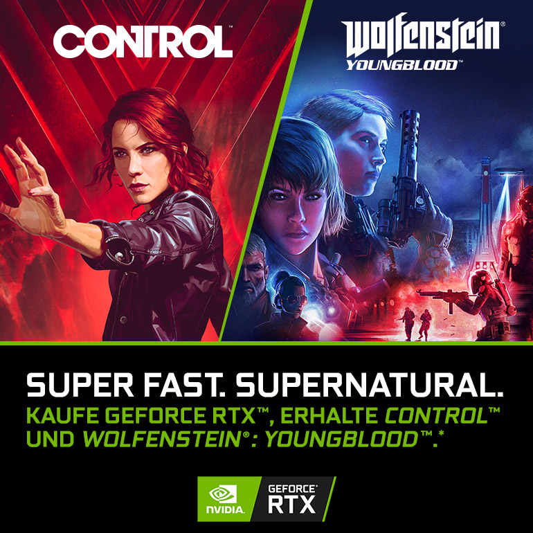 NVIDIA GeForce RTX Super Fast. Super Natural Bundle