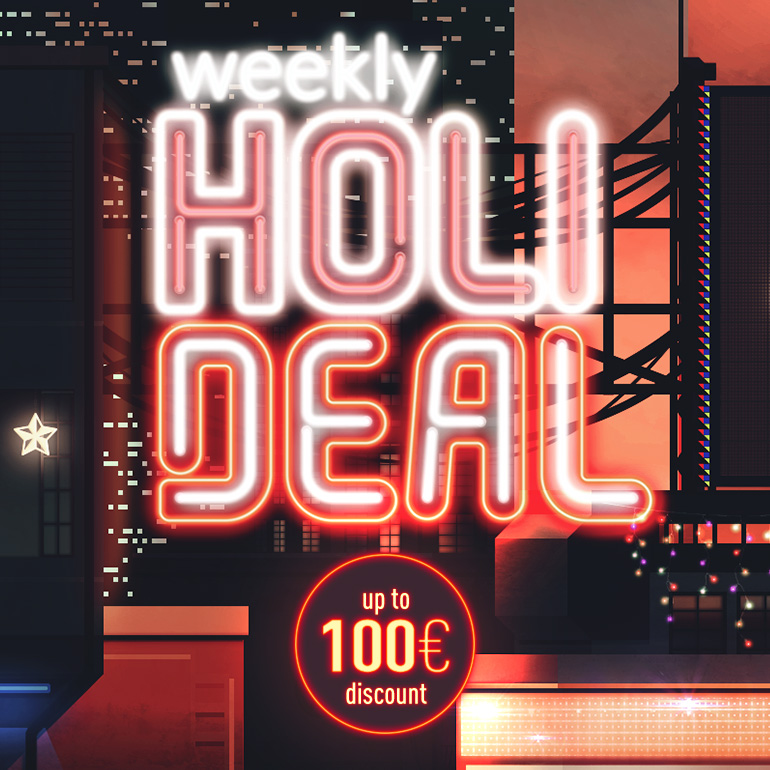 weekly holi deal header