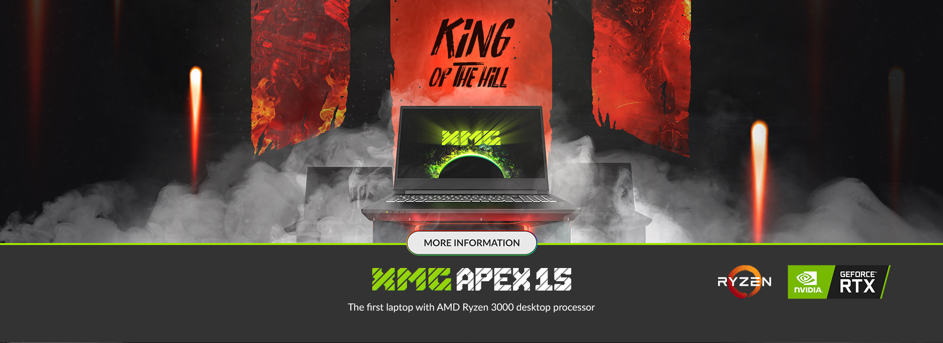 XMG APEX 15 - KING OF THE HILL