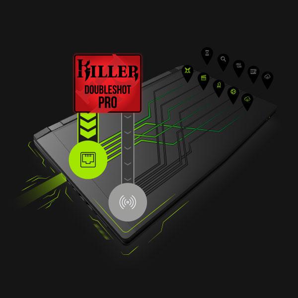 KILLER Doubleshot PRO LAN