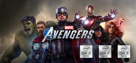 Intel Marvel's Avengers Gaming Bundle bestware Highlight