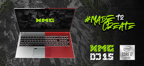 XMG DJ 15 - Dein Neuer Laptop zum Auflegen