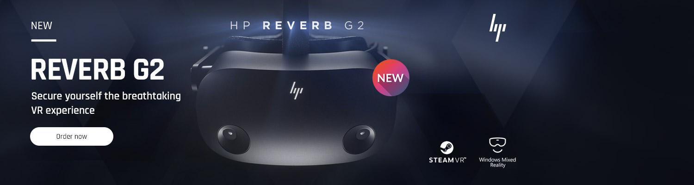 HP Reverb G2 bestware Home Banner