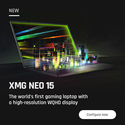 XMG DJ 15 Laptop for Traktor Serato Rekordbox Home Banner