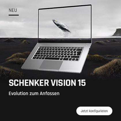 SCHENKER VISION 15 - Evolution zum Anfassen