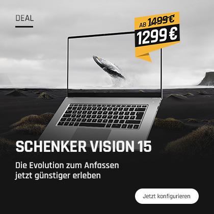 SCHENKER VISION 15 im Preis gesenkt
