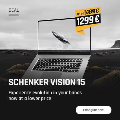 SCHENKER VISION 15 price reduction