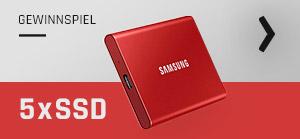bestware Samsung T7 Gewinnspiel