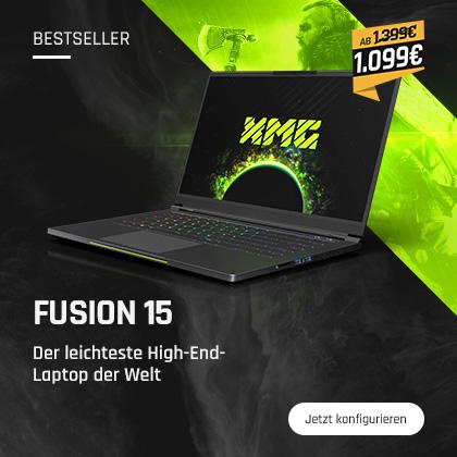 XMG FUSION 15 - Der leichteste High-End-Laptop der Welt