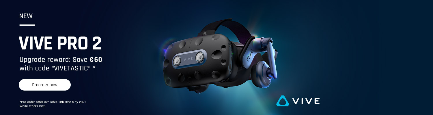 VIVE Pro 2: Pre-order now and save 60€
