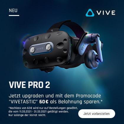 VIVE Pro 2: Jetzt zum Bestpreis vorbestellen