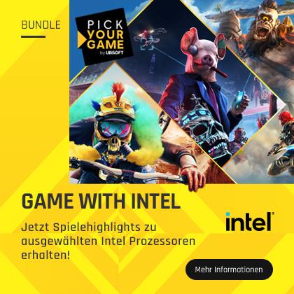 Jetzt Spielehighlights mit ausgewählten Intel Prozessoren erhalten