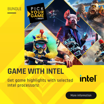 Get game highlights with selected Intel processors