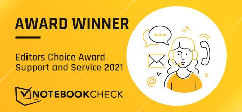 Notebookcheck Editors Choice Award
