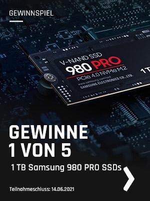 bestware Gewinnspiel Samsung 980 PRO SSD Deals