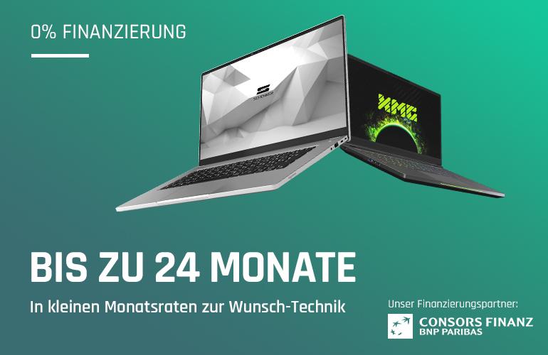 bestware 0 % Finanzierung für Gaming-Laptops, Desktop PCs und VR-Brillen