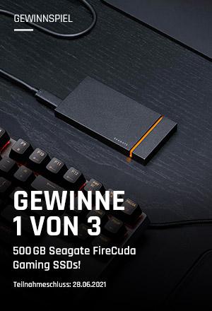 Seagate FireCuda Gaming SSD Gewinnspiel
