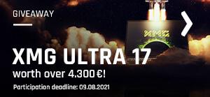bestware XMG ULTRA 17 gaming laptop giveaway