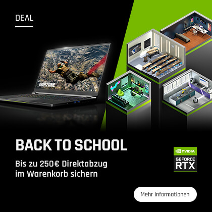 NVIDIA Back to School Rabatte sichern