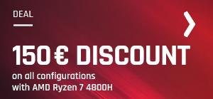 bestware deals AMD Ryzen 7 4800H sale