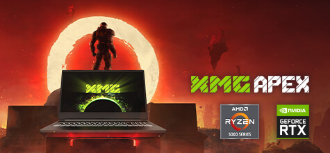 XMG APEX Gaming-Laptop