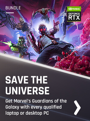NVIDIA Marvel's Guardians of the Galaxy Bundle