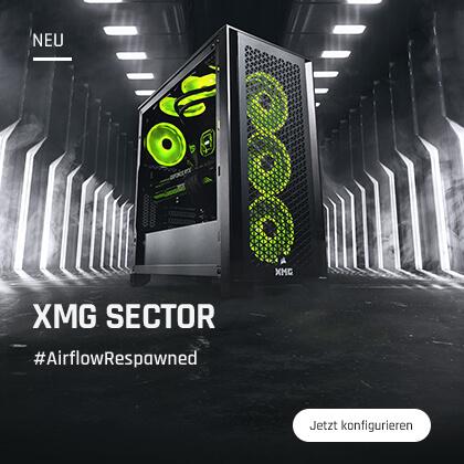 Der neue XMG SECTOR!
