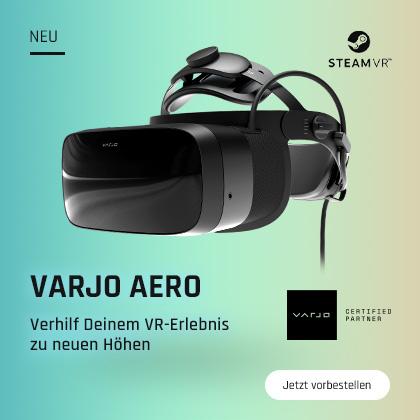Varjo Aero - Verhilf Deinem VR-Erlebnis zu neuen Höhen