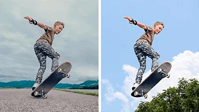 Adobe Photoshop hintergrund ersetzen
