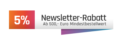 5% Newsletter-Rabatt