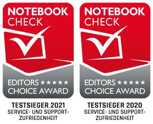 bestware Support & Service-Testsieger 2021 Notebookcheck