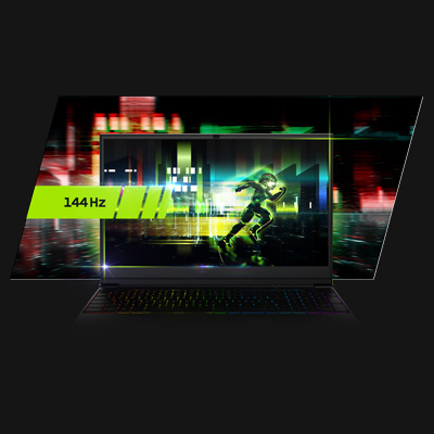 XMG NEO 17 Gaming Laptop 144 Hz Display