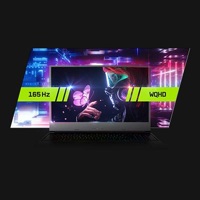XMG NEO 15 AMD Early 2021 WQHD 165 Hz Display