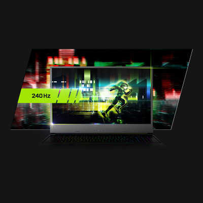 XMG NEO 15 240 Hz Gaming Display