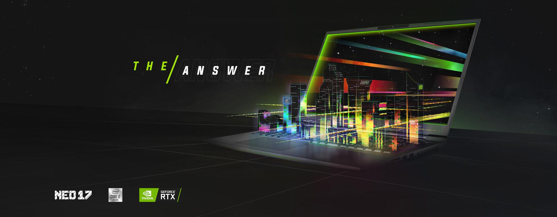 XMG NEO Gaming Laptop NVIDIA GeForce RTX