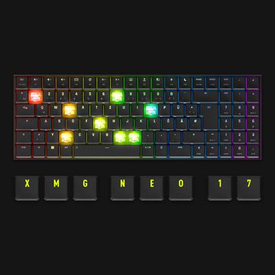 XMG NEO 17 Gaming Laptop Optomechanical Keyboard