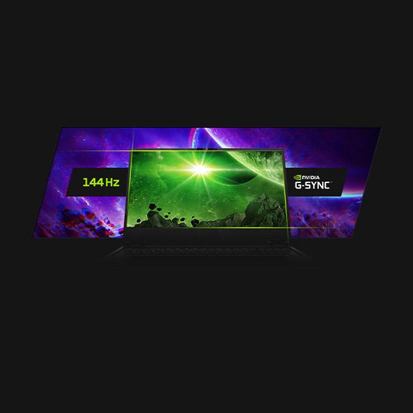 XMG PRO 17 Gaming Laptop 144 Hz Display