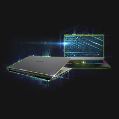 XMG NEO 15 Gaming Laptop hochwertiges Chassis