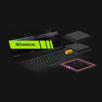 XMG FUSION 15 mechanische Tastatur