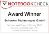 Awar Winner Service Notebookcheck 2018