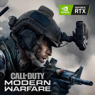 NVIDIA GeForce RTX Call of Duty: Modern Warfare Bundle