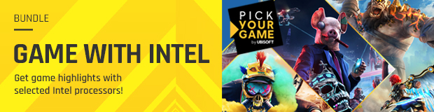 Intel & Ubisoft Pick Your Game